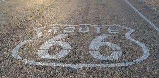 Route 66 Strecke